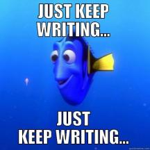 Image result for just keep writing