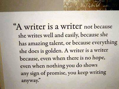 Help writers block